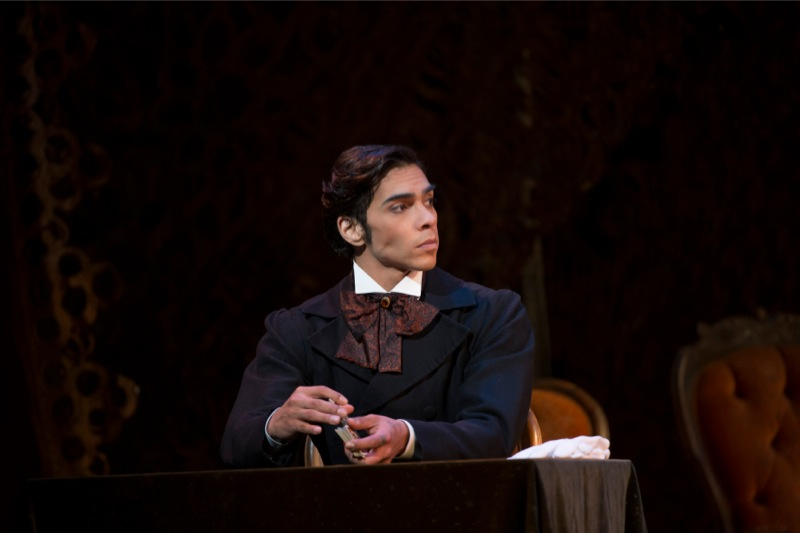 Reilly as Onegin, Act II