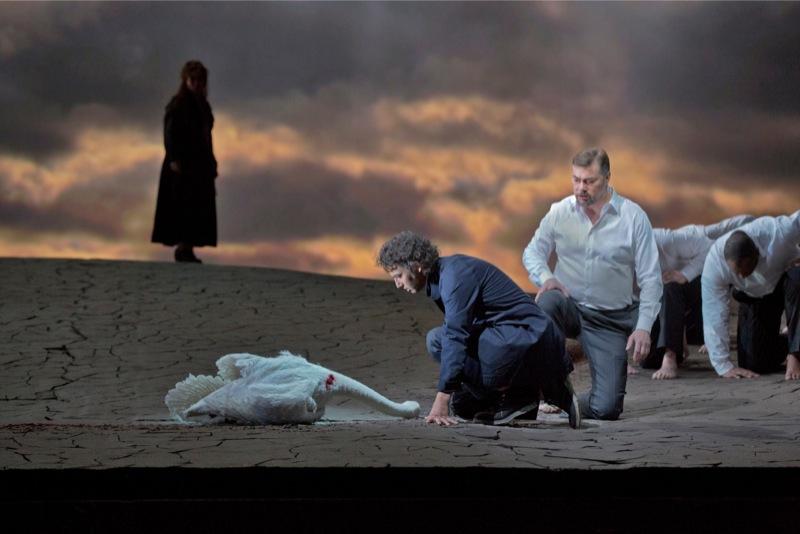 Kundry, Parsifal, Gurnemanz, all images MetOpera/ KenHoward