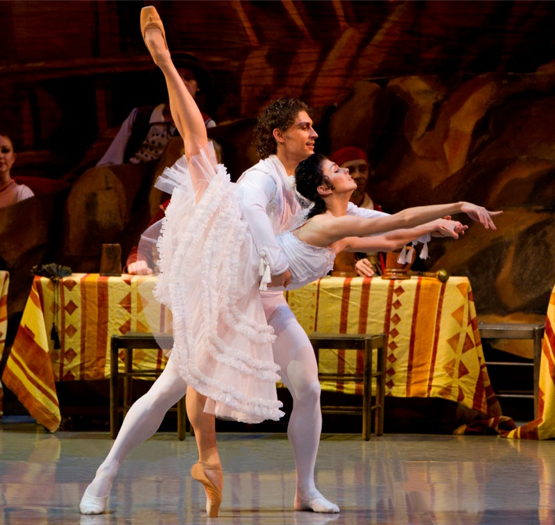 Frondoso and Laurencia, all images ©MikhailovskyTheatre
