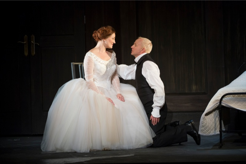 Their wedding night, WNO/ Bill Cooper