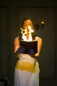 Medea with her book of spells