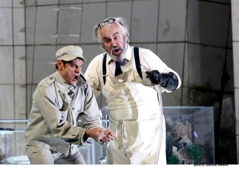 Wozzeck and the crazy doctor