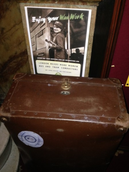Genuine suitcase from a Kindertransport