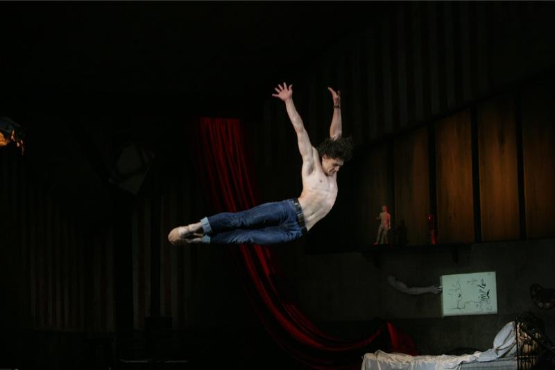 Vasiliev as le jeune homme, ©Damir Yusupov