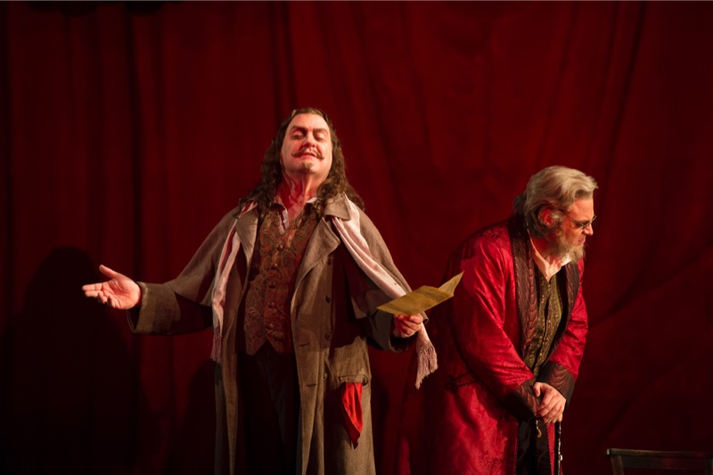 Méphistophélès and the aged Faust, all images ROH/ ©Bill Cooper