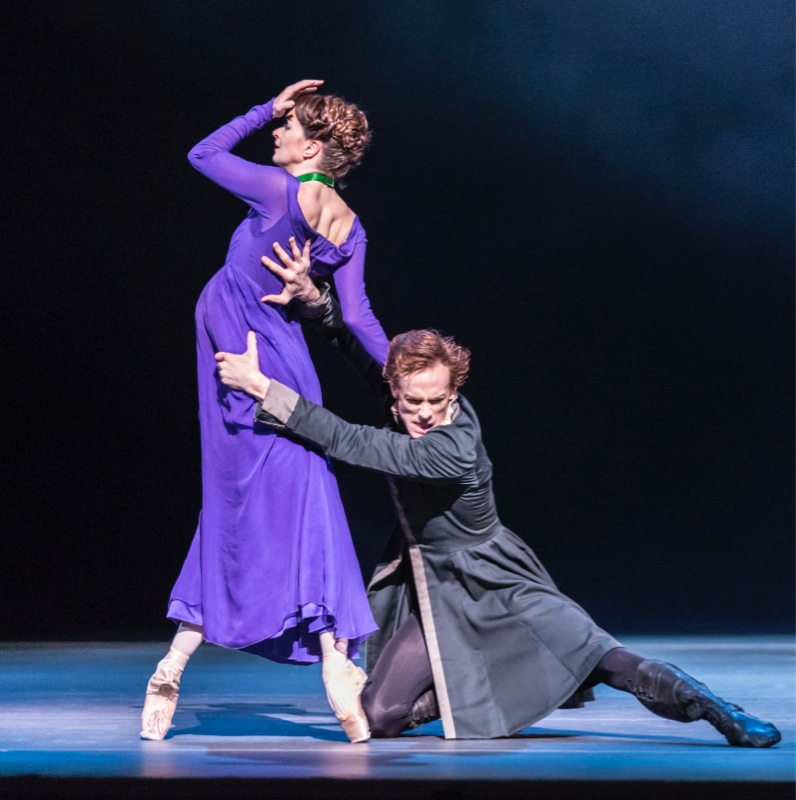 Hermione and Leontes, all images ROH/ Johan Persson