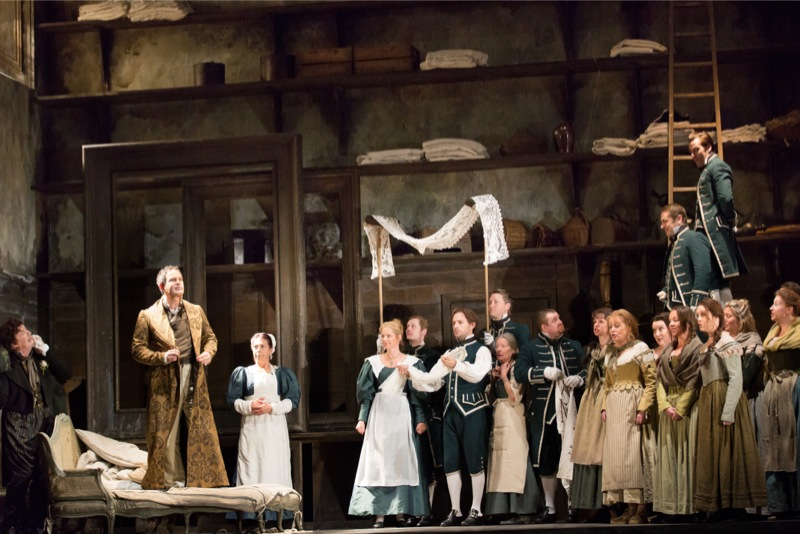 Count, Susanna, Figaro, servants, all images ROH/ Mark Douet