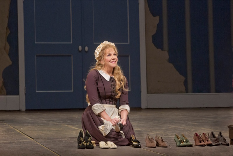 Joyce DiDonato as Cinderella, all images ©Metopera/ Ken Howard