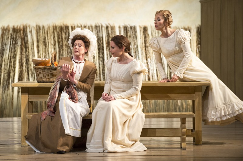 Mme Larina, Tatyana, Olga, all images ©GFO/ Richard Hubert Smith