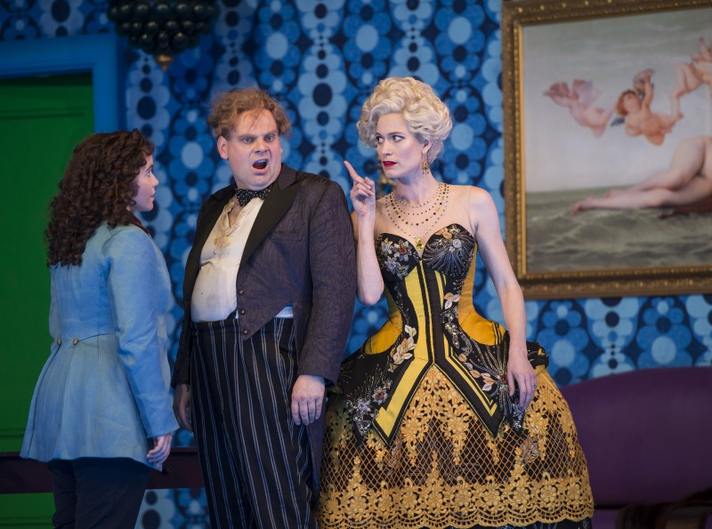 Octavian, Ochs, Marschallin in Act III