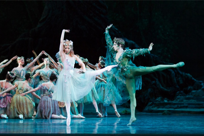Titania and Oberon, all Dream images ROH/ Johan Persson