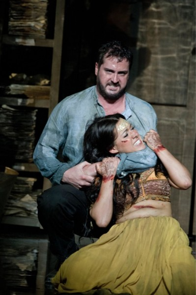 Zurga and Leïla in Act III
