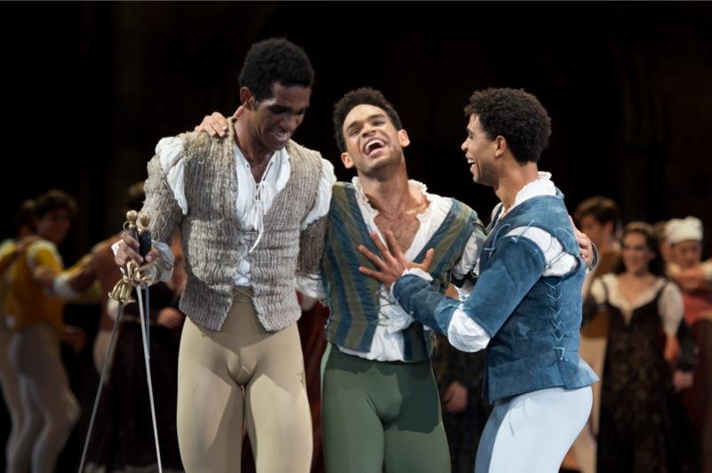 Benvolio, Mercutio, Romeo