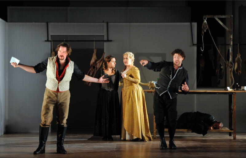 Count, Susanna, Countess, Figaro, all images ENO/ Robbie Jack