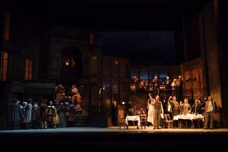The glorious Act II set, all images ROH/ Bill Cooper