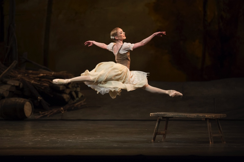 Sarah Lamb as Giselle, ROH image/ Bill Cooper
