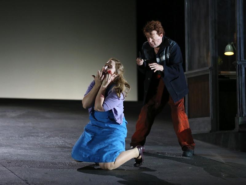Jenufa and Laca, all images ENO/ Donald Cooper