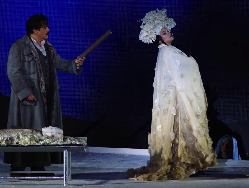 Calaf and Turandot