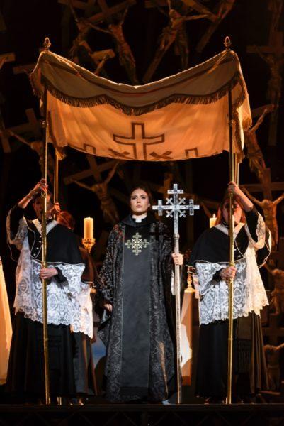 Norma as priestess
