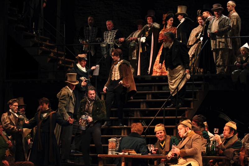 In the tavern, all images ROH/ Catherine Ashmore